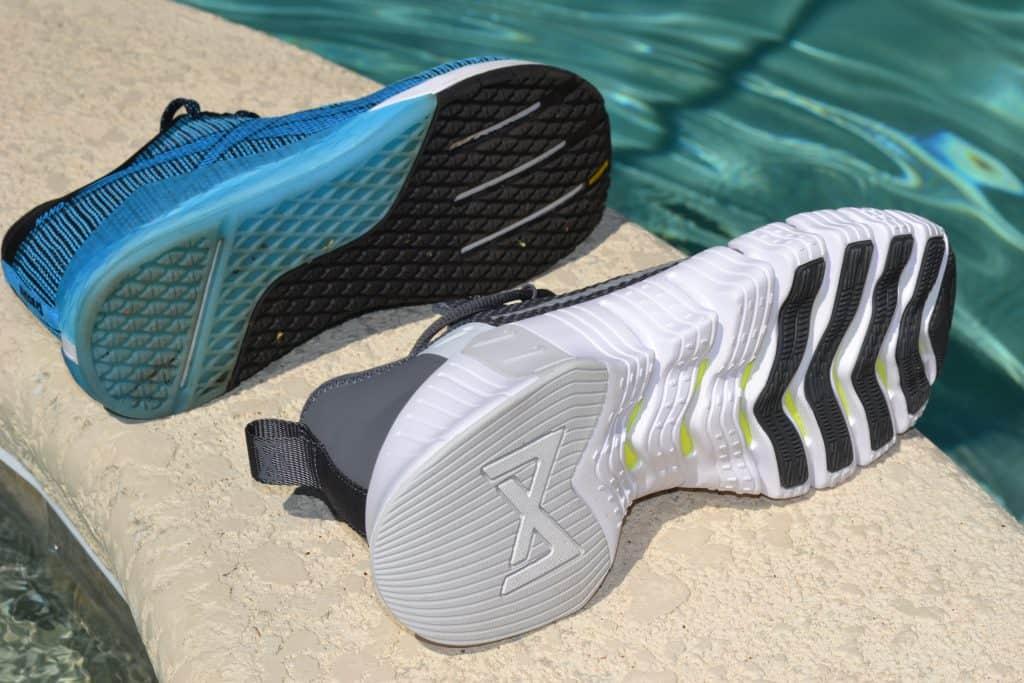 Nike Free Metcon 3 versus Reebok Nano 9 - Sole to Sole