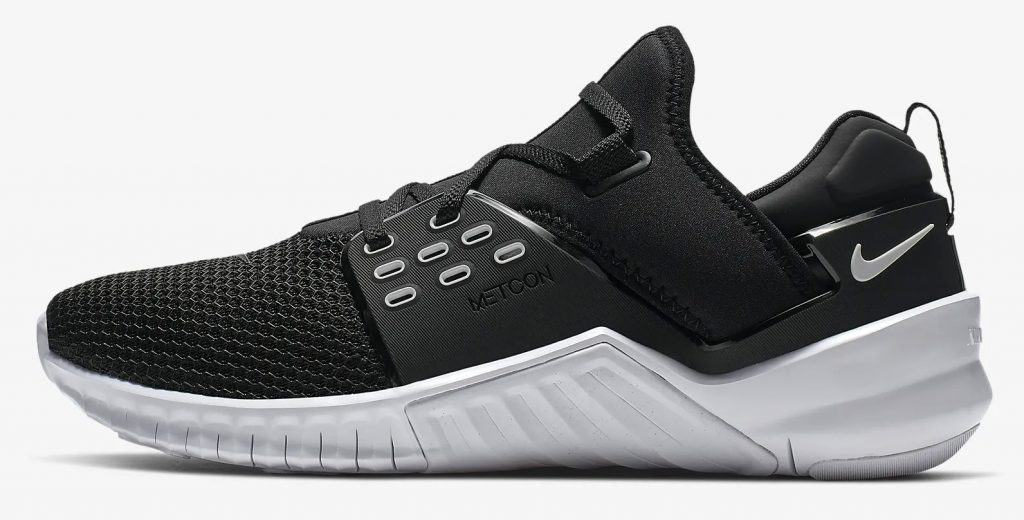 Side view (Black/white) - The Nike Free X Metcon 2 is one of Nikes Cross Training shoes for 2019