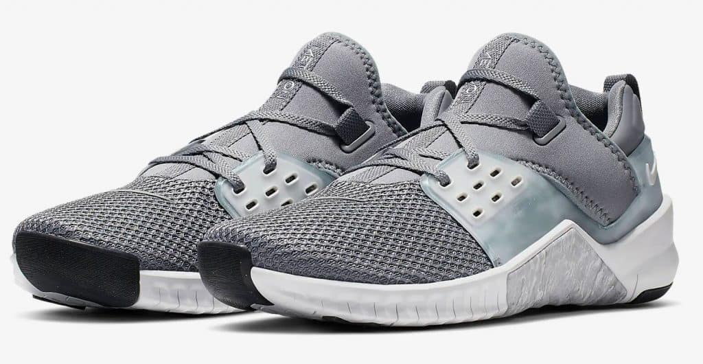 The Nike Free X Metcon 2 is the Nike Cross Training shoe for running in 2019.  Shown here in Grey/Black/Platinum.