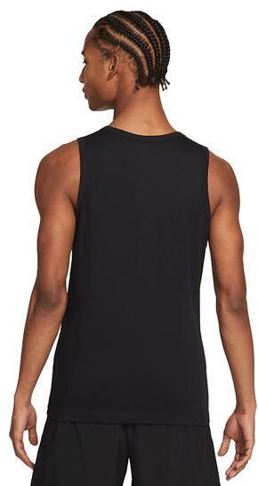 Nike Men's Dri-FIT Training Tank - No Rest Days worn back