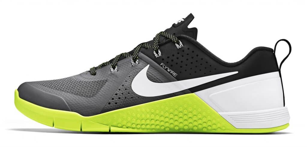 The shoe that started it all - the Nike MetCon 1 - as it was released in 2015.