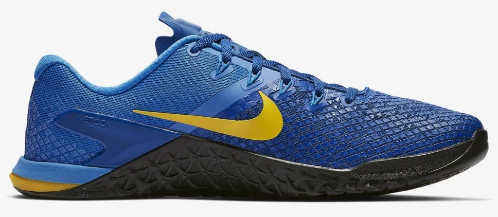 "Nike Metcon 4 XD - Looks fabulous in ""TEAM ROYAL / LIGHT PHOTO BLUE / BLACK / AMARILLO"" - CrossFit Training Shoe"
