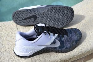 Nike Metcon 4 XD Shoe for CrossFit - new 3D print upper for extra durability - and all the great metcon features you love
