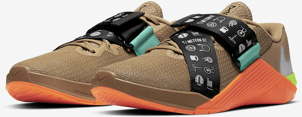 Nike Metcon 5 UT (Utility) has a hook and loop strap for the ultimate in stability and support.