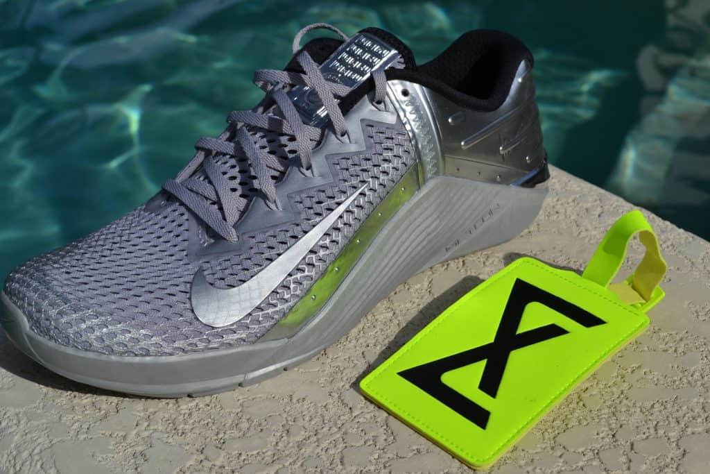 Nike Metcon 6 Premium Training Shoe Review Metallic Silver (2)