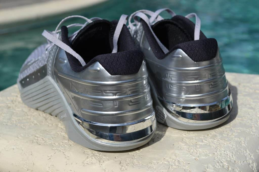 Nike Metcon 6 Premium Training Shoe Review Metallic Silver (5)
