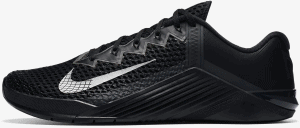 Nike Metcon 6 Black/Anthracite/Metallic Silver