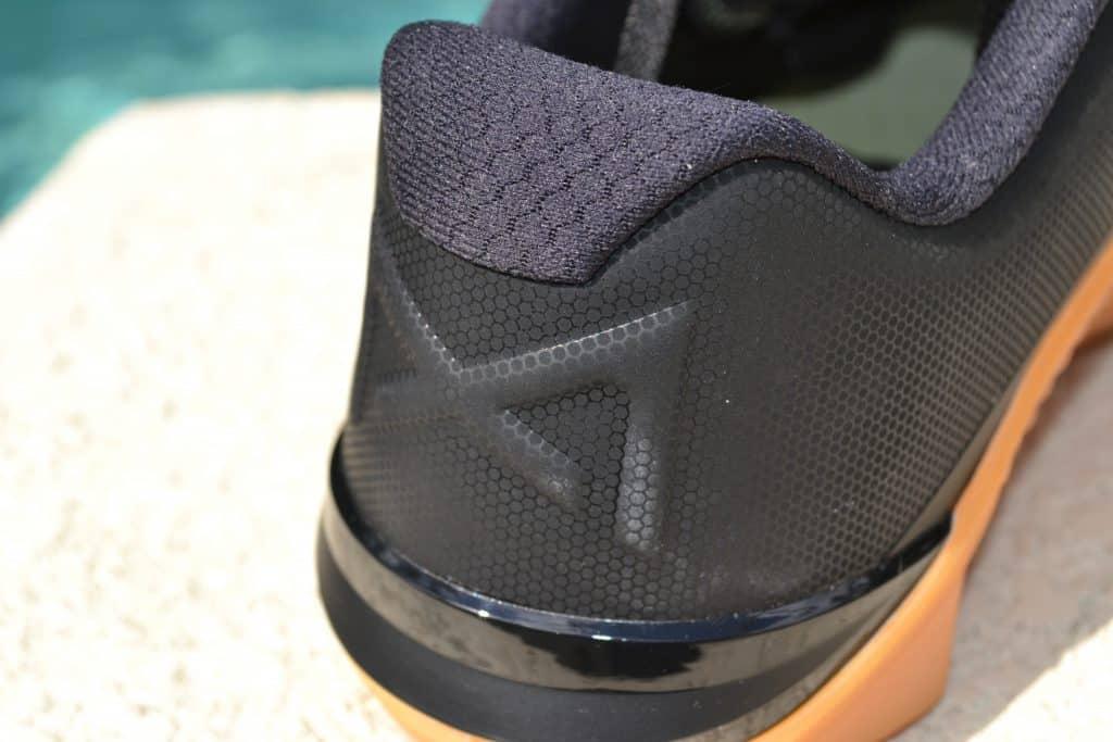 Nike Metcon 6 Camo - Heel Closeup 2