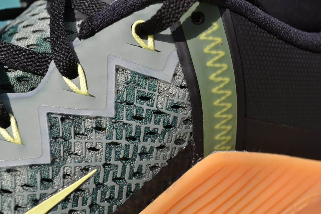 Nike Metcon 6 Camo - Upper Closeup 2