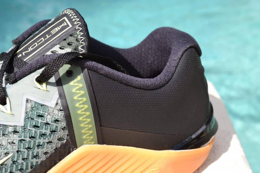 Nike Metcon 6 Camo - Collar Closeup