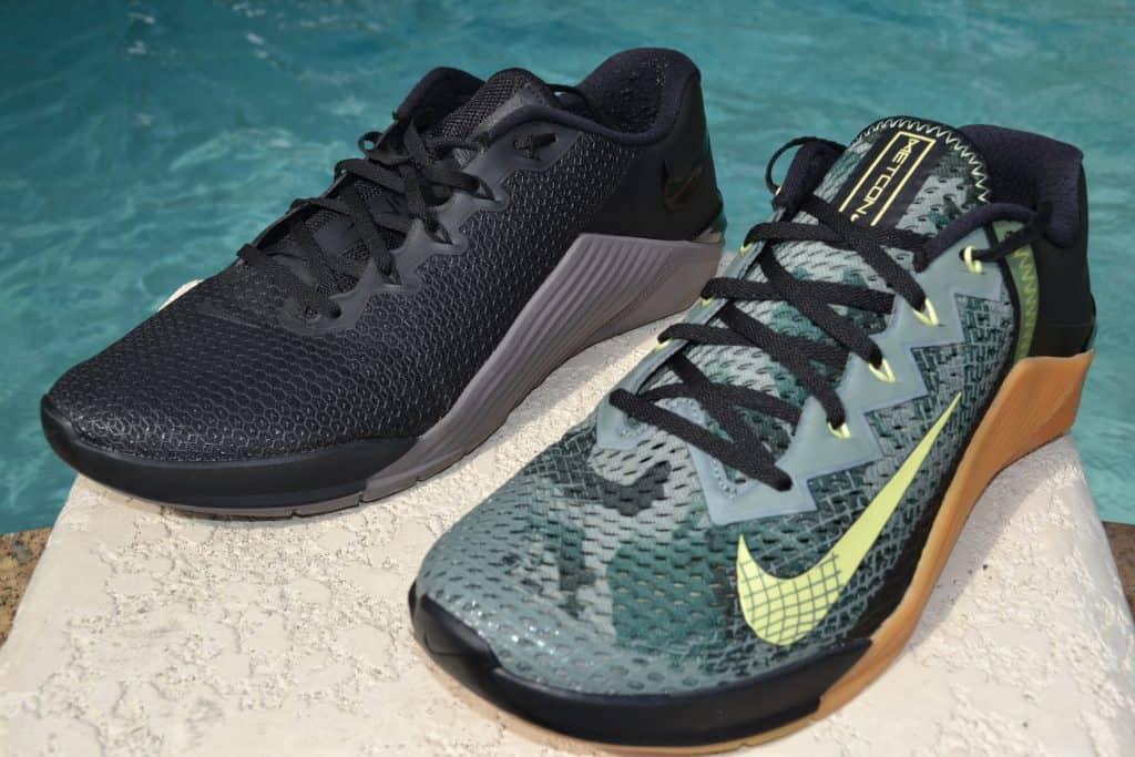 Nike Metcon 6 Versus Nike Metcon 5 Side by Side 3