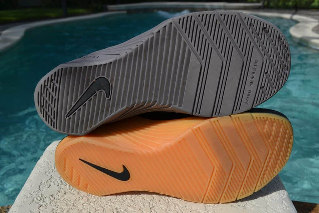 Nike Metcon 6 Versus Nike Metcon 5 Sole to Sole