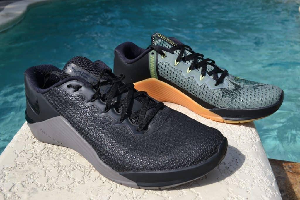 Nike Metcon 6 Versus Nike Metcon 5 Side by Side 2