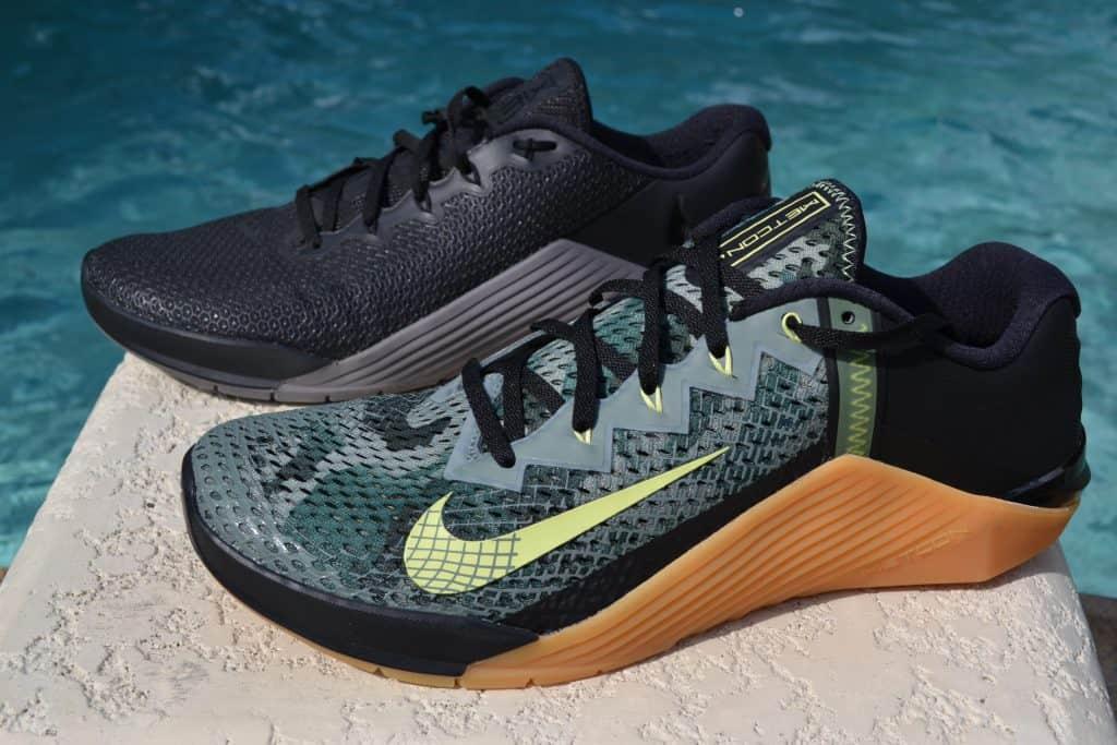 Nike Metcon 6 Versus Nike Metcon 5 Side by Side
