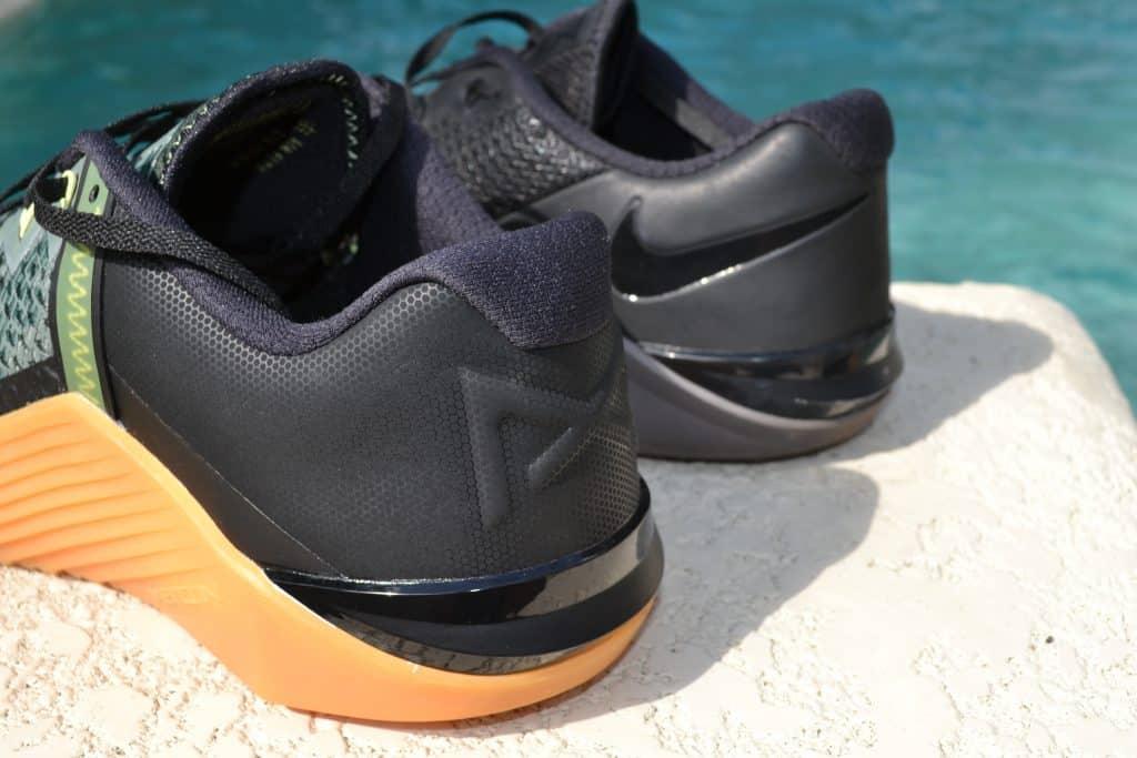 Nike Metcon 6 Versus Nike Metcon 5 Heel to Heel
