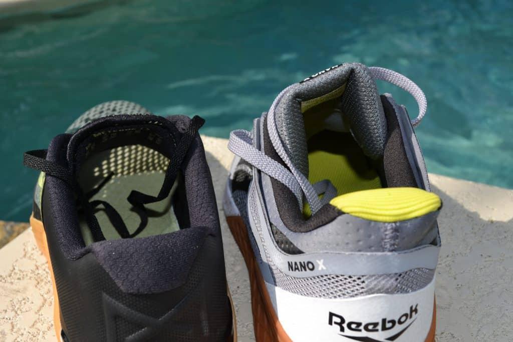Nike Metcon 6 Versus Reebok Nano X Breathable upper