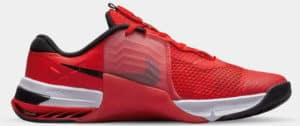 Nike Metcon 7 Men's Chile Red Black-Magic Ember-White side view right