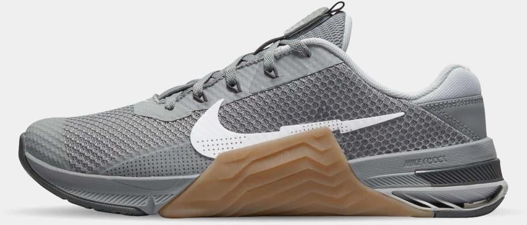 Nike Metcon 7 Men's Grey Gum side view left