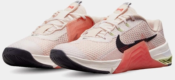 Nike Metcon 7 Women's Light Soft Pink Cave Purple-Magic Ember quarter view left