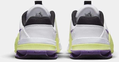 Nike Metcon 7 Women's White Purple back view pair