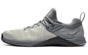 Nike Metcon Flyknit 3 Mens in COOL GRAY / BLACK