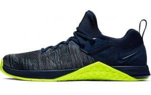 Nike Metcon Flyknit 3 Mens in OBSIDIAN / VOLT