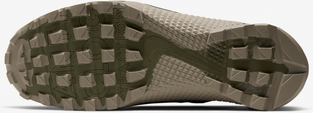 Nike Metcon X SFB - Deep tread on the outsole for all-terrain capability - including mud!
