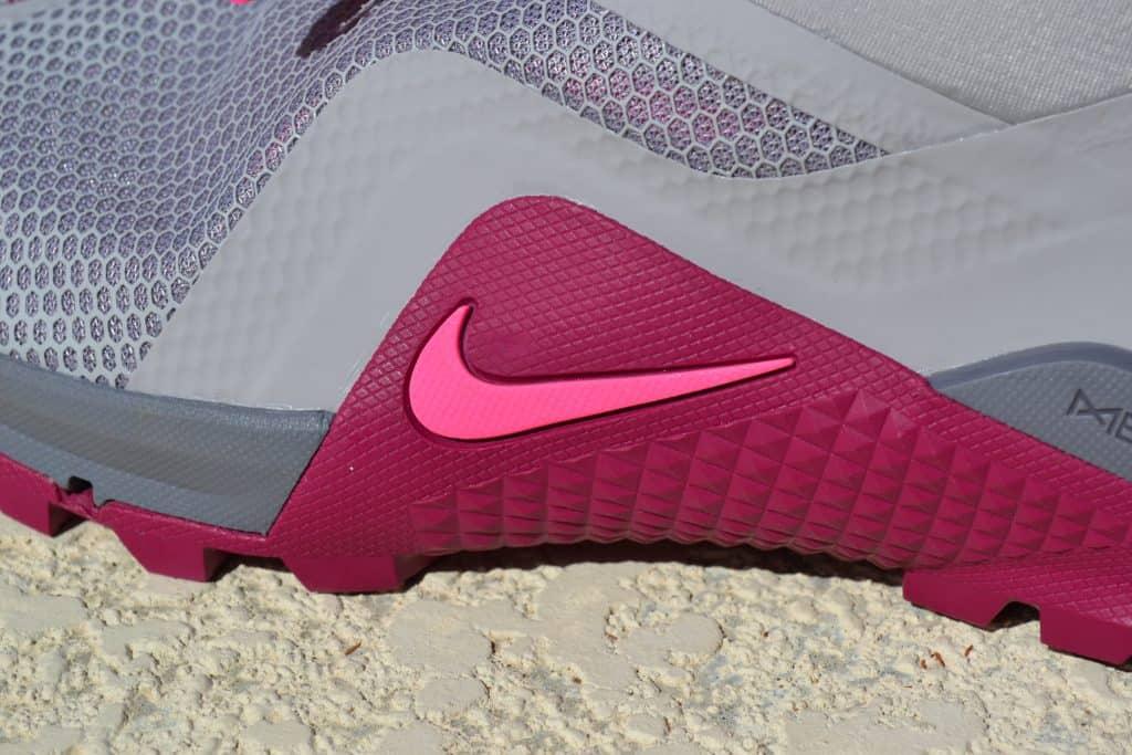 Rope Wrap area on the Nike Metcon SF - Closeup.