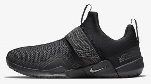 The side of the Nike Metcon Sport Cross Training Shoe is designed for heavy weightlifting like all Metcons, but is updated for increased agility during explosive movements and speed drills.