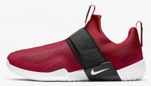 Other side of the Nike Metcon Sport Cross Training Shoe is designed for heavy weightlifting like all Metcons, but is updated for increased agility during explosive movements and speed drills.