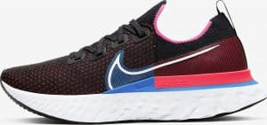 Nike React Infinity Run Flyknit Black/Red Orbit/Photo Blue/White