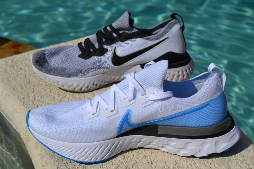 Nike React Infinity Run vs Epic React Flyknit 2