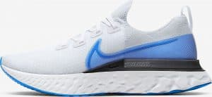 Nike React Infinity Run Flyknit White/White/Pure Platinum/Photo Blue