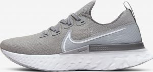 Nike React Infinity Run Flyknit Wolf Grey/Cool Grey/Metallic Silver/White