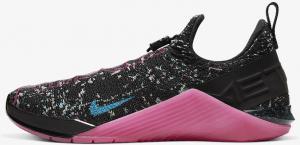 Nike React Metcon AMP Women's Training Shoe - Black/Fire Pink/Green Strike/Blue Fury Style