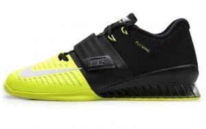 The Nike Romaleos 3 Weightlifting Shoe