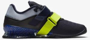 Nike Romaleos 4 Blackened Blue-Deep Royal Blue-Cyber-Bright Mango right side view