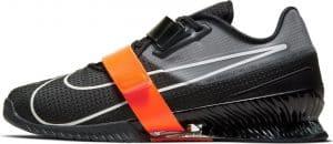 Nike Romaleos 4 Weightlifting Shoe Black/White/Orange
