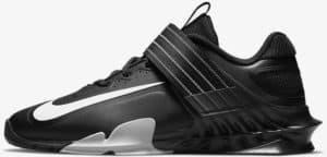 Nike Savaleos Black Gray left quarter view