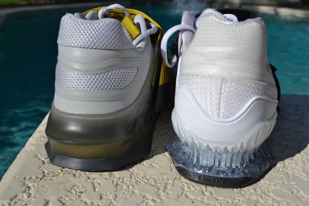 Savaleos Versus Romaleos Drop in the Heel