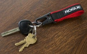 Rogue Nylon Key-chain Red