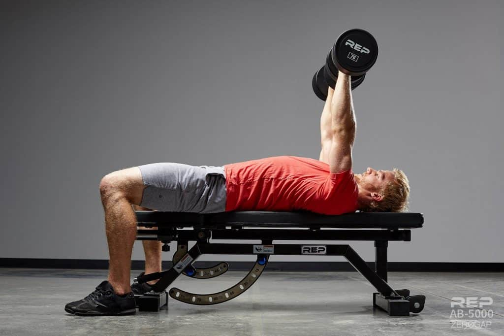 The REP AB-5000 Zero-Gap bench can be used as a ZERO GAP flat bench, thanks to their patent pending design.