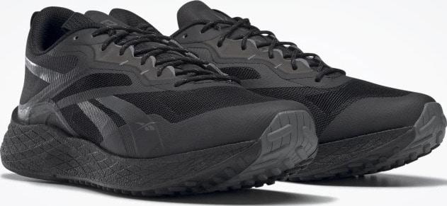 Reebok Floatride Energy 3 Adventure Mens Running Shoes Black Pure Grey 6 Ftwr White quarter view pair