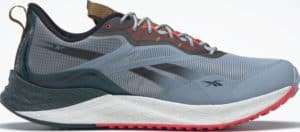 Reebok Floatride Energy 3 Adventure Mens Running Shoes Gable Grey MIdnight Pine Neon Cherry right side view