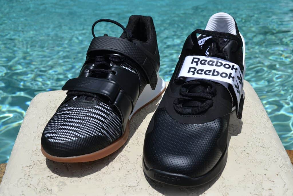 Reebok Legacy Lifter II Weightlifting Shoe Versus Legacy Lifter Side by Side 4