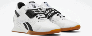 Reebok Legacy Lifter II Women's Weightlifting Shoes in White / Black / Reebok Lee 7 - Quarter