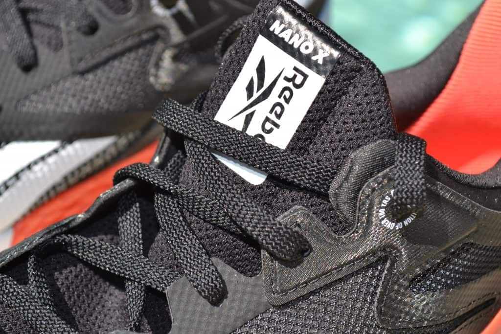 Reebok Nano X - Tongue closeup
