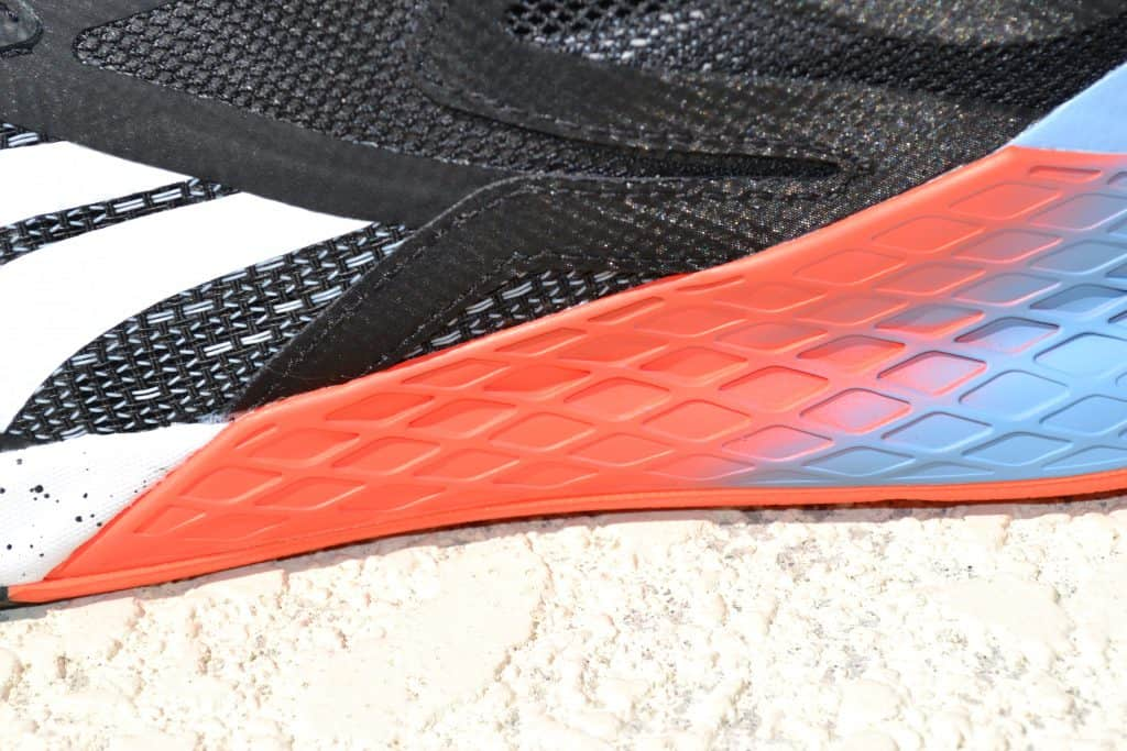 Reebok Nano X - Closeup of Rubber Protection Wrap