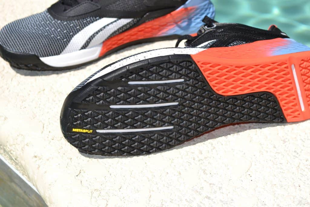 Reebok Nano X - Outsole view