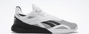 Reebok Nano X - CrossFit Training Shoe in Black/White/White